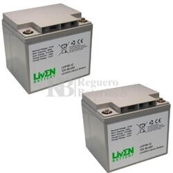 Baterías de Litio Silla Movilidad 12 Voltios 40 Amperios LVIF40-12