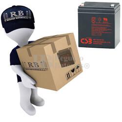Baterías de reemplazo CSB HR1221W para SAI ( Pack 20 Baterías )