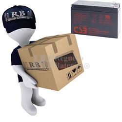 Baterías de reemplazo CSB HR1234W para SAI ( Pack 10 Baterías )