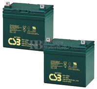 Baterías de reemplazo para SAI ( Pack 2 Baterías ) 2XEVX12340