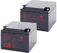 Baterías para SAI APC  Pack 2 Baterías 2XGP12260