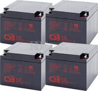 Baterías para SAI APC Pack 4 Baterías 4XGP12260