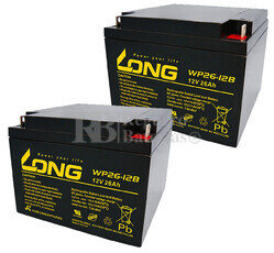 Baterías de sustitución para SAI APC AP1200 - APC RBC-AP1