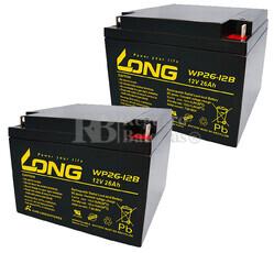 Baterías de sustitución para SAI APC AP1200VX - APC RBC-AP1