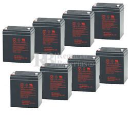Baterías de sustitución para SAI APC DLA3000RM2U