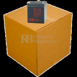 Baterías de sustitución para SAI APC SURT1000RMXLT - APC RBC44