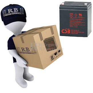 Bater�as de sustituci�n para SAI APC SURT3000XLT-1TF3 - APC RBC44