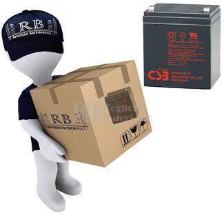Baterías de sustitución para SAI APC SURTA3000RMXL - APC RBC44