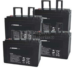 Baterías de sustitución para SAI APC UXBP48
