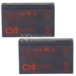 Baterías de sustitución para SAI MGE MERLIN GERIN Pulsar EL 2