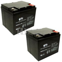Baterías GEL Movilidad 12 Voltios 40 Amperios PBCG12-40