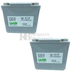 Baterías Litio Silla Movilidad 12 Voltios 20 Amperios LVIF20-12H