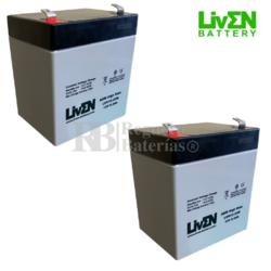 Baterías para Patín eZip 150 12 Voltios 5,5 Amperios