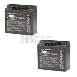 Baterías para Scooter 12 Voltios 20 Amperios MK ES20-12CFT