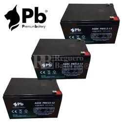 Baterías Patín 36 Voltios 12 Amperios Alto Rendimiento
