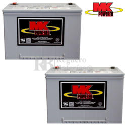 Baterías Scooter MK M34SLD-G 12 Voltios 60 Amperios
