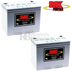 Baterías Silla de Ruedas MK M24SLD G FT 12 Voltios 73,6 Amperios