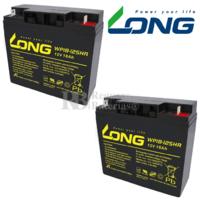 Kit de baterías 12 Voltios 18 Amperios Long WP18-12SHR para Movilidad