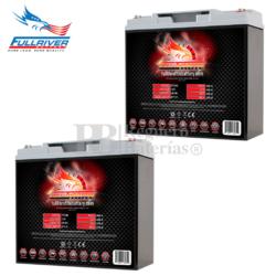 Baterías Silla Movilidad 12 Voltios 20 Amperios Fullriver HC20 FT230