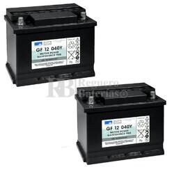 Baterías Silla Movilidad 12V 48A Gel Dryfit GF12040Y Sonnenschein