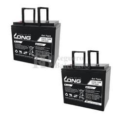 Baterías Silla Movilidad Gel 12 Voltios 55 Amperios LG55-12