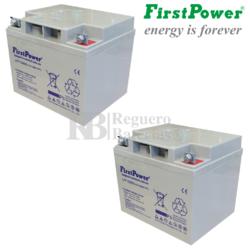 Baterías Sillas de Ruedas 12 Voltios 45 Amperios LFP1250SG