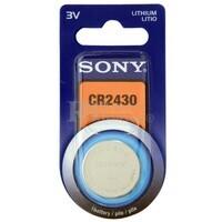 Blister 1 pila Litio Sony tipo boton CR2430 ( 24.50 d . x 3 alt . ) 3 v . 280 mAh .