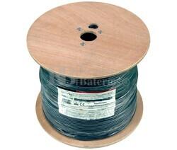 Cable para micrófono estéreo, Negro 500m