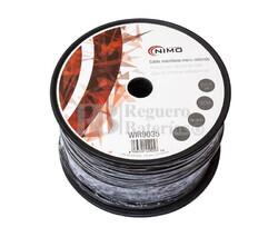 Cable para micrófono mono, Negro 100m