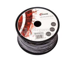 Cable paralelo apantallado, Negro 100m