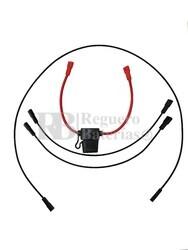 Cables con Terminales para Conexión a 36 Voltios