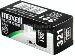 Caja 10 Pilas de Litio Maxell SR616SW - 321