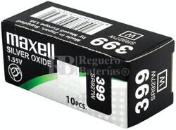 Caja 10 Pilas de Litio Maxell SR927W - 399