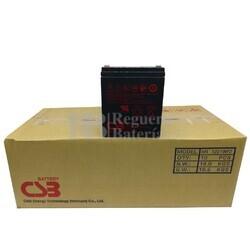 Caja Baterías de reemplazo CSB HR1221W para SAI 10U