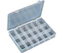 Caja clasificadora con 18 departamentos