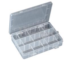 Caja clasificadora con 24 departamentos ajustables