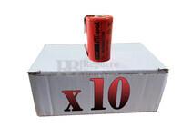 Caja de 10 Baterías SubC 1.2 Voltios 2,1 Amperios con lengüetas