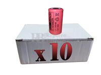 Caja de 10 Baterías SubC 1.2 Voltios 2,1 Amperios sin lengüetas