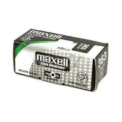 Caja de 10 pilas reloj Maxell 363 SR621W oxido de plata