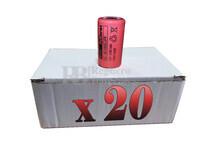 Caja de 20 Baterías Recargables Sub-c 1.2 Voltios 2.100 mah sin lengüetas