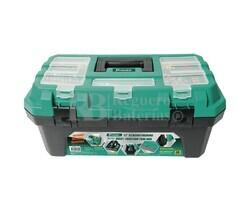Caja de herramientas para almacenaje y transporte 420 x 230 x 200 mm