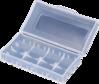 Caja para 2 baterías Litio 18650