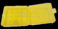 Caja para 4 baterías Litio 18650