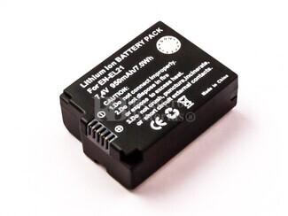 Camara EN-EL21, Li-ion, 7,4V, 950mAh, 7,0Wh para camaras NIKON