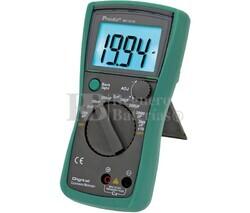 Capacímetro 3 1/2 Dig. de 200PF hasta 20000UF Proskit MT-5110