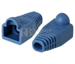 Capuchón de plástico para RJ45 azul