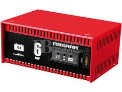 Cargador Estandar de Baterías ABSAAR 12 Voltios 6 Amperios para AGM y Plomo Acido