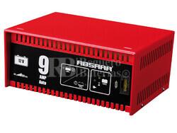 Cargador Automatico de Baterías ABSAAR 12 Voltios 9 Amperios para GEL, AGM y Plomo Acido