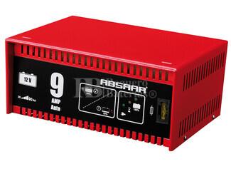 Cargador Automático de Baterías ABSAAR 12 Voltios 9 Amperios para GEL, AGM y Plomo Acido