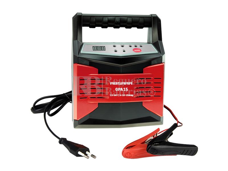 cargador de baterias 12 voltios y 24 voltios 6 10 y15 amperios absaar ab100 1215. Black Bedroom Furniture Sets. Home Design Ideas